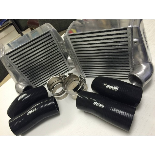 "AMS ""OMEGA"" Z32 300ZX Side Mount Intercoolers"