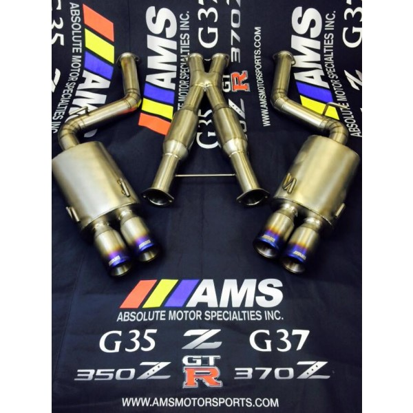 AMS FULL TITANIUM CAT-BACK EXHAUST 300ZX Z32