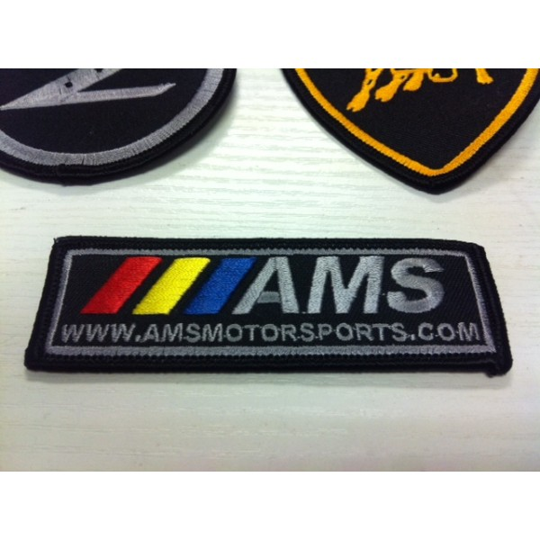 AMSMOTORSPORTS IRON ON PATCH