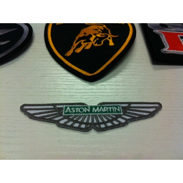 ASTON MARTIN IRON ON PATCH
