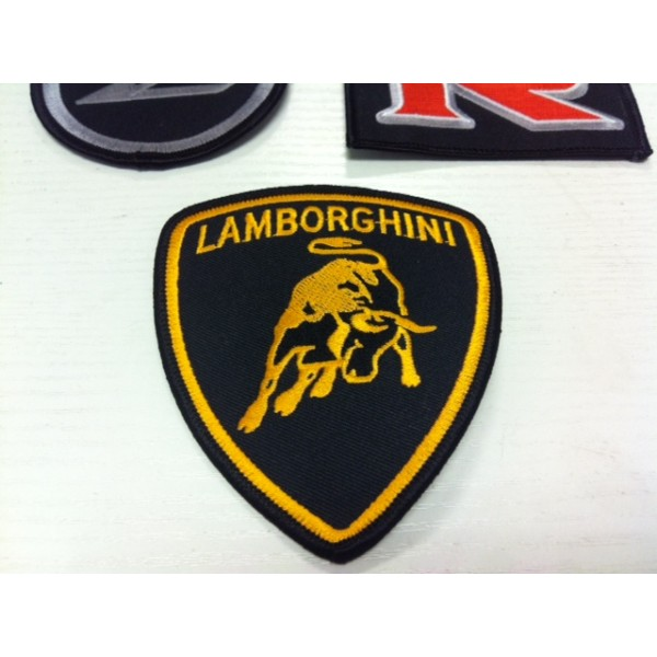 LAMBORGHINI IRON ON PATCH