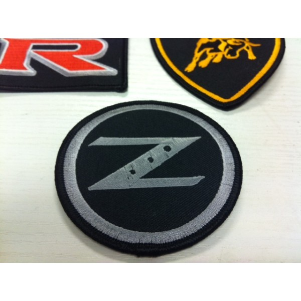 Z LOGO IRON ON PATCH