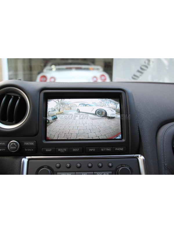 2009-2010 R35 REAR VIEW CAMERA KIT (OPTIONAL FRONT CAMERA)