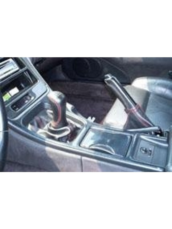NISSAN JDM RED-STITCH SHIFTER BOOT