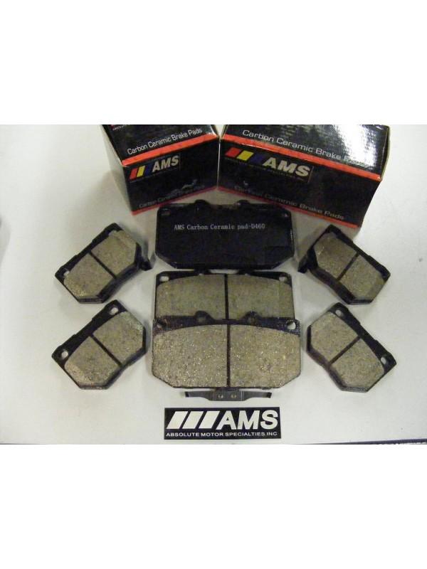 AMS Z33 CARBON-CERAMIC PADS (REAR) BREMBO D-961