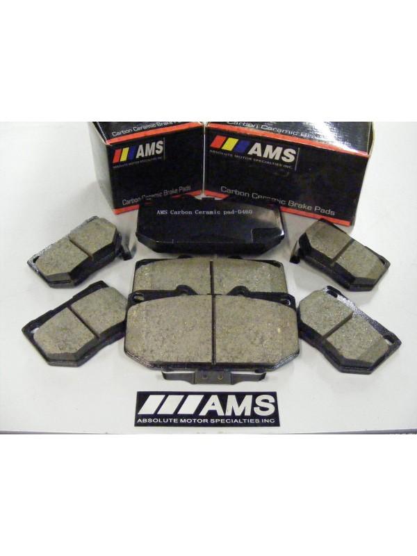 AMS Z33 CARBON-CERAMIC PADS (FRONT) BREMBO D-960