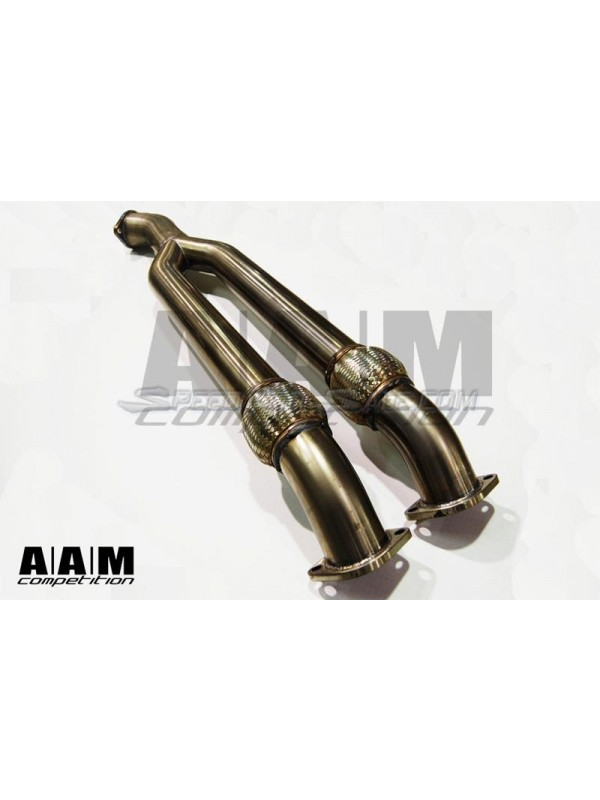 "AAM COMPETITION 3"" TO 3.5"" MIDPIPE (OPTIONAL RESONATORS)"