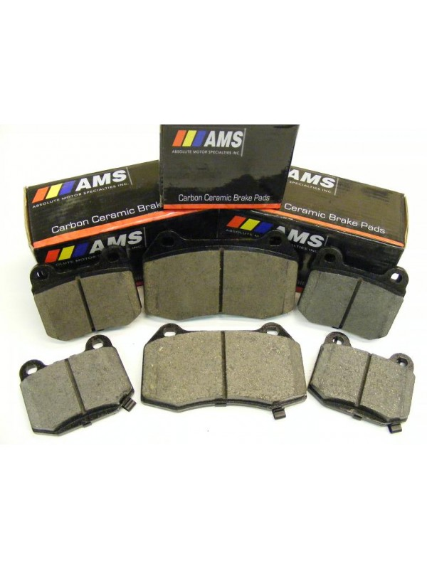 AMS CARBON CERAMIC PADS REAR (D461)
