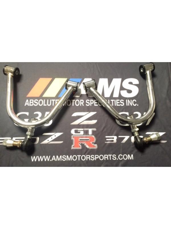 AMS 350Z/G35 Chrome V2 Adjustable Front Upper Control Arms
