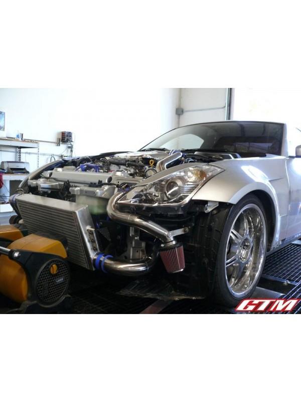 gtm motorsports vq35de twin turbo turn key kit