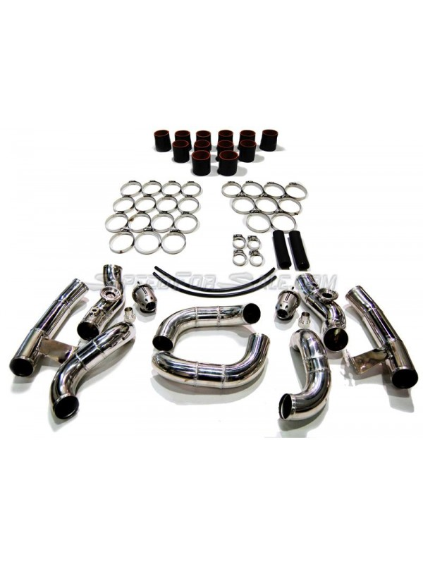 AAM COMPETITION INTERCOOLER PIPING KIT WITH HKS SSQVS