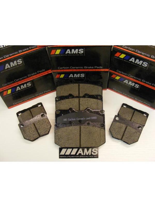AMS 350Z / Z33 CARBON-CERAMIC PADS (REAR) NON-BREMBO 03-05