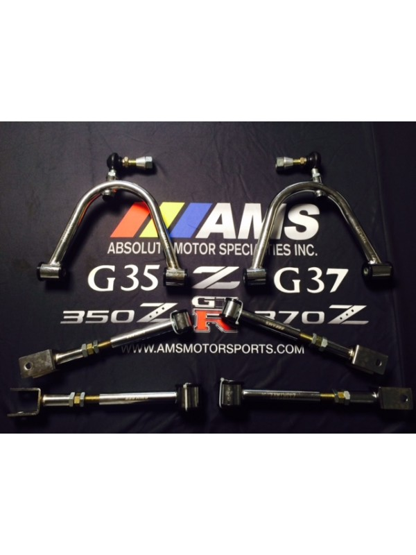 AMS 350Z / G35 Chrome V2 ADJUSTABLE CAMBER KIT