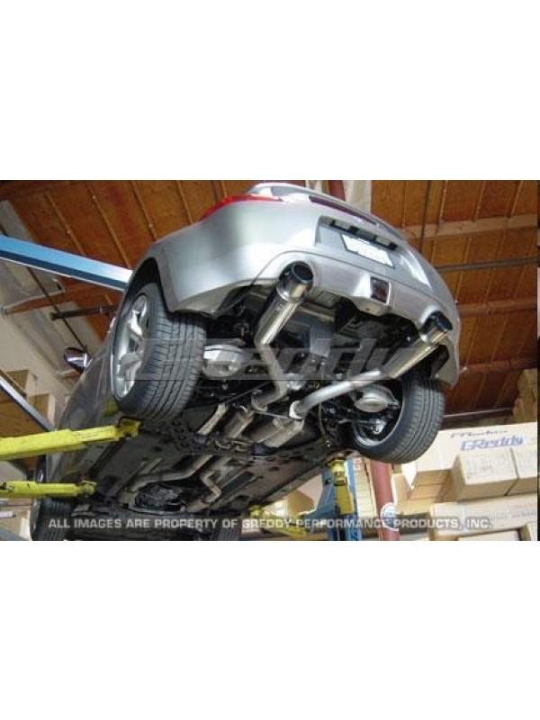GREDDY TURBO TI-C TRUE DUAL 370Z EXHAUST
