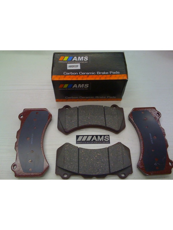 AMS R35/GTR FRONT CARBON CERAMIC BRAKE PADS