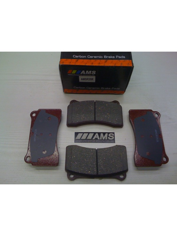 AMS R35/GTR REAR CARBON-CERAMIC BRAKE PADS