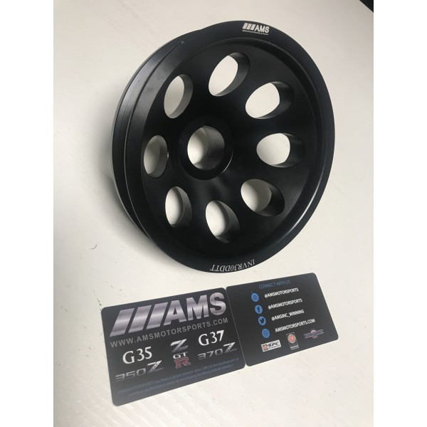AMS INFINITI Q60 PERFORMANCE CRANK PULLEY