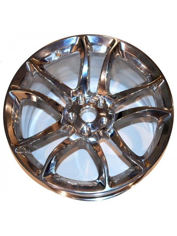 "NISSAN 19"" ALCOA FORGED POLISHED ALUMINUM WHEELS"