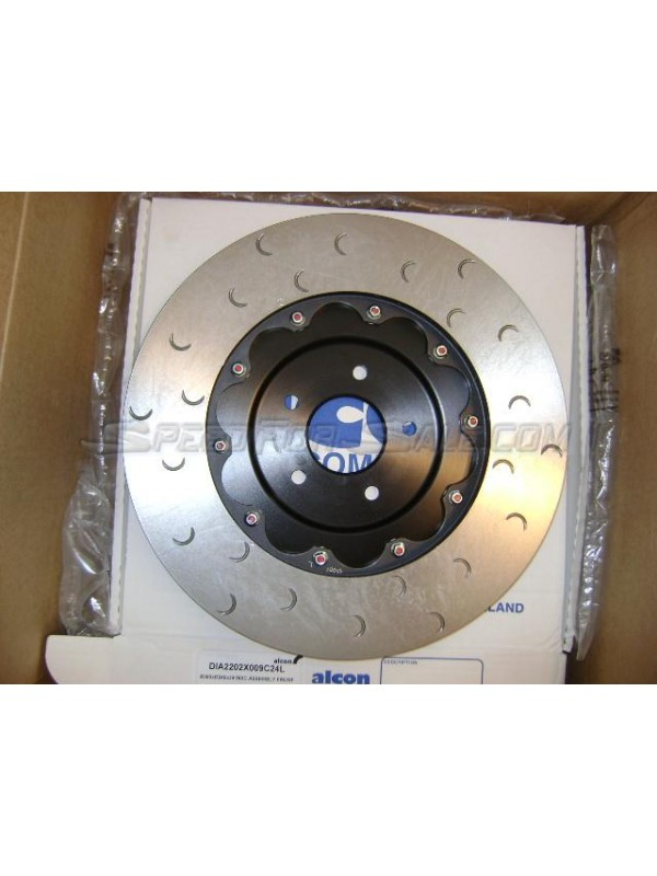 ALCON GT-R LIGHTWEIGHT BRAKE ROTORS & HATS