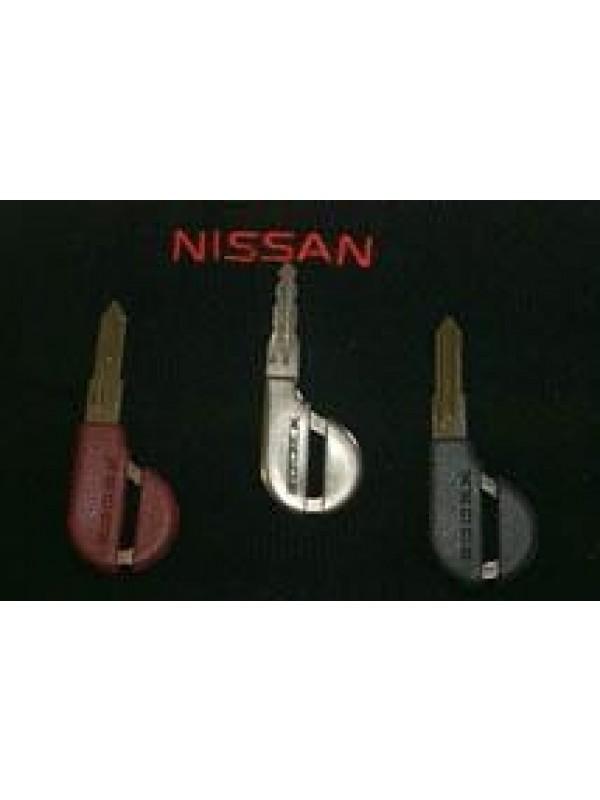 NISSAN RED BLANK KEY