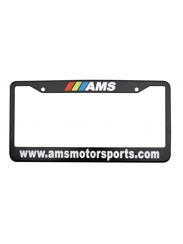 AMS LICENCE PLATE FRAME