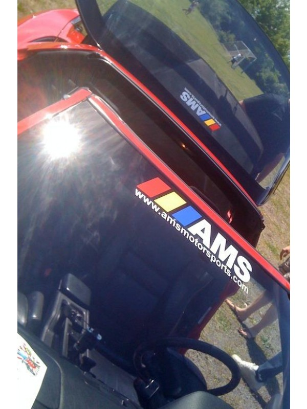 AMS WINDOW / BODY DECALS