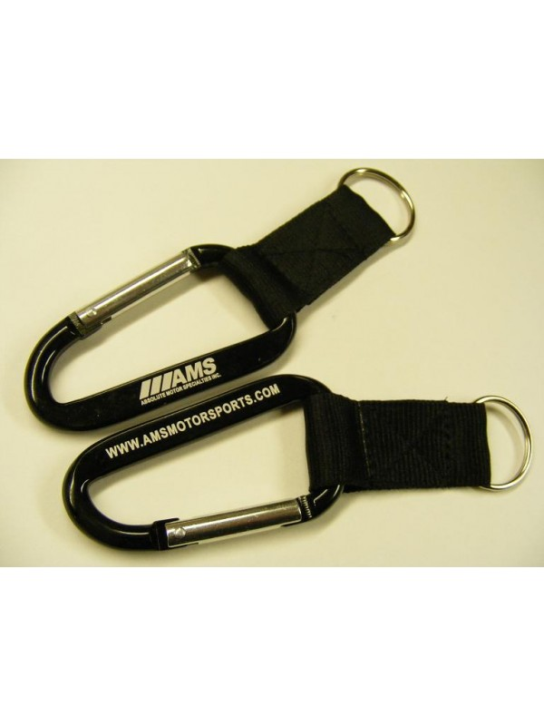 AMS CARABINER STYLE KEYCHAIN