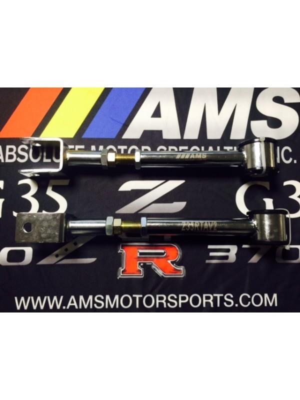 AMS 350Z/ G35 Chrom V2 REAR CAMBER ARMS