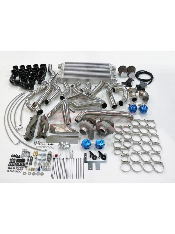 GTM MOTORSPORTS VQ37HR TWIN TURBO TURN KEY KIT