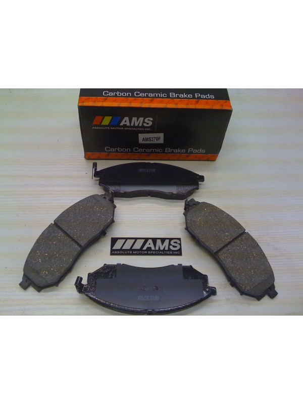 AMS CARBON-CERAMIC BRAKE PADS FRONT 370Z (NON-SPORT PKG)
