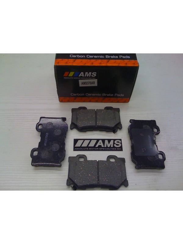 AMS CARBON-CERAMIC PADS REAR (370Z AKEBONO/SPORT PKG)