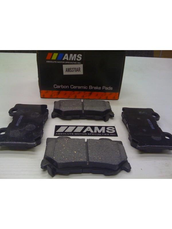 AMS CARBON-CERAMIC PADS FRONT (370Z AKEBONO/SPORT PKG)