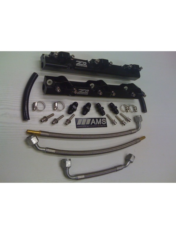AMS 300ZX Z32 INNOVATIONS FUEL RAIL KIT W/  AMS S.S. LINES