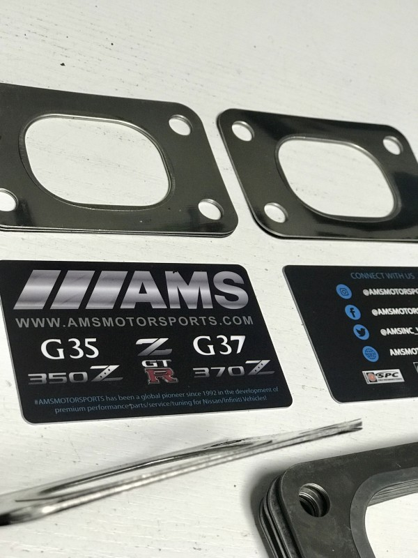 AMS T25 Turbo Flange Gasket 6 Layer Stainless Steel!