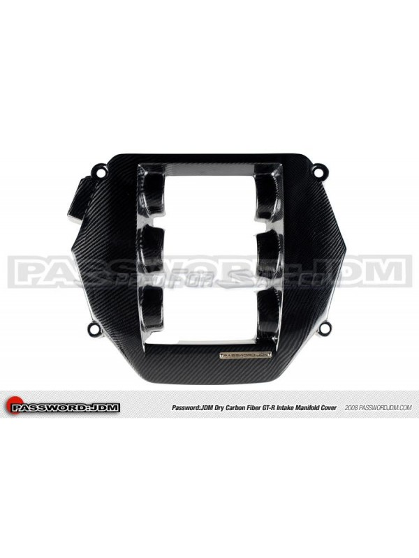 PASSWORD JDM DRY CARBON FIBER INTAKE MANIFOLD COVER